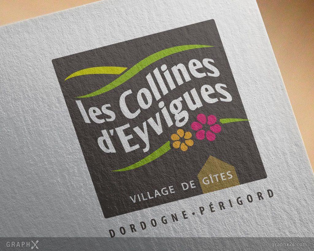 Logo pour un village de gîtes