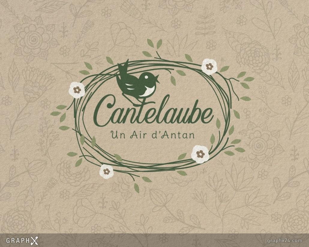 Logo pour un gîte de charme