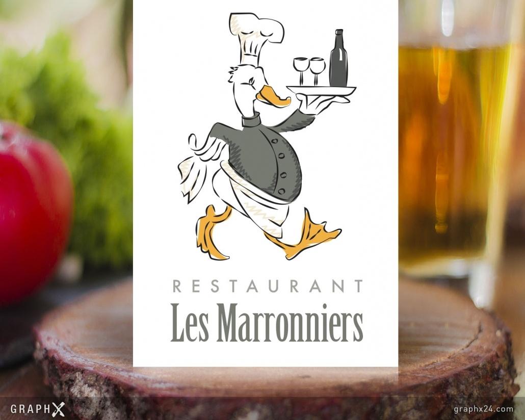 Logo pour un restaurant