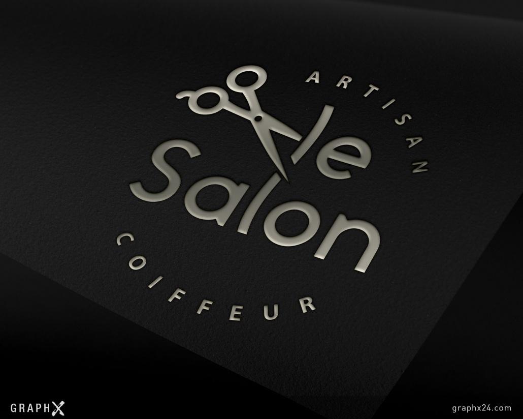 Logo pour un coiffeur