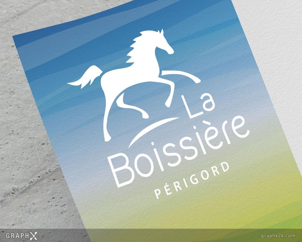 Logo pour un centre équestre