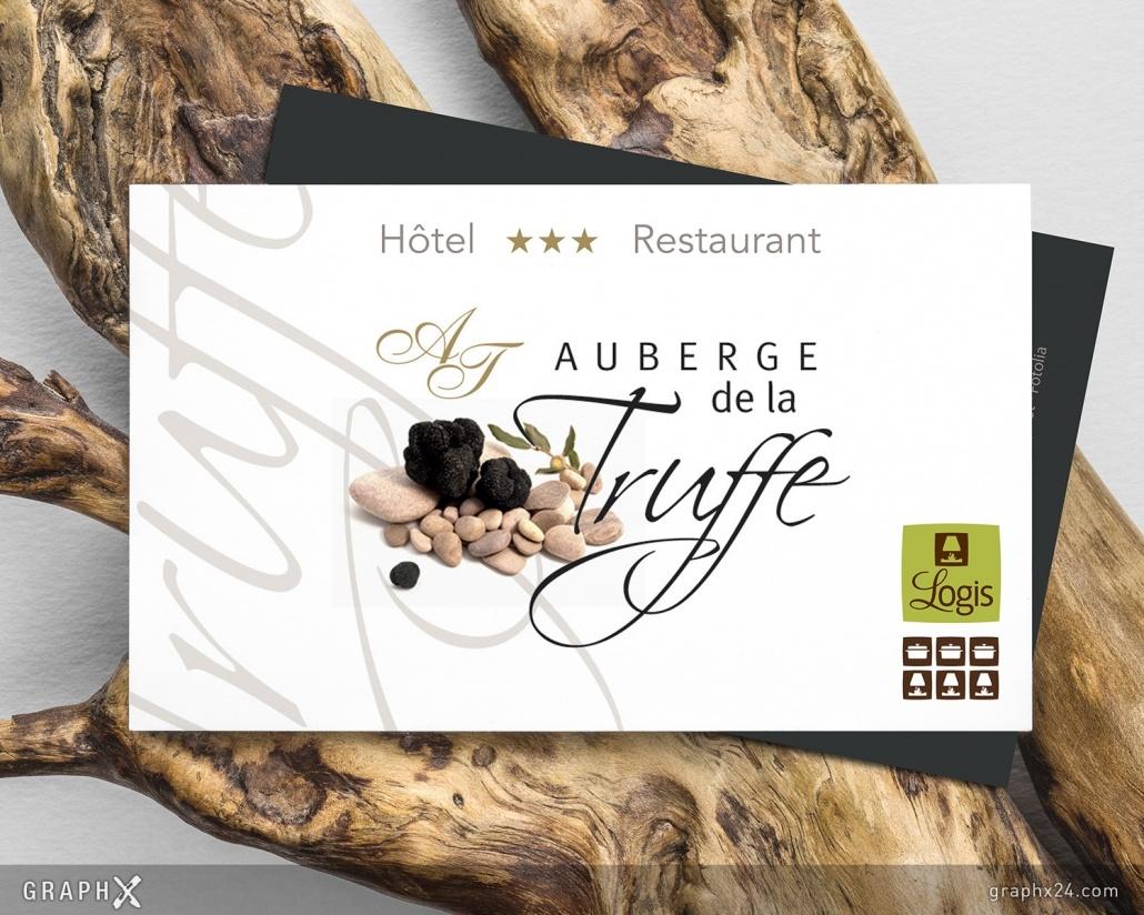 Carte de visite Hôtel Restaurant