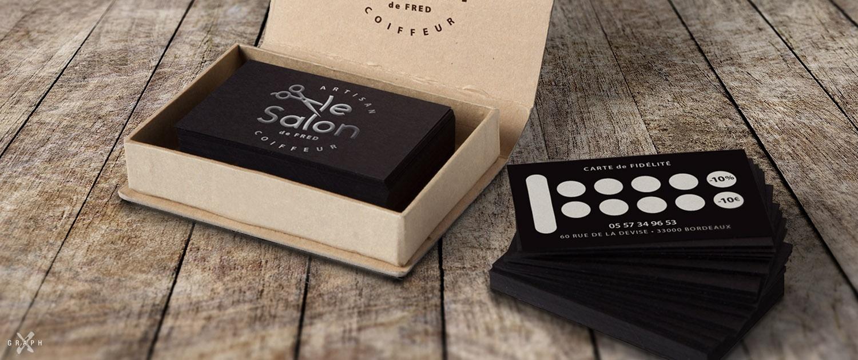Carte de fidélité salon de coiffure